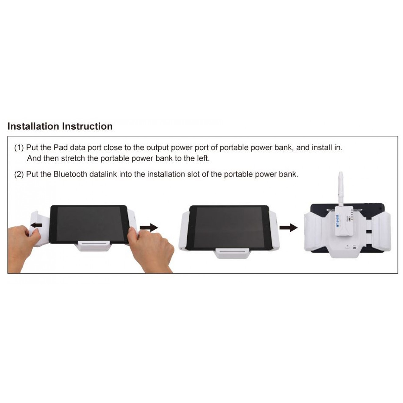 Walkera Padholder / Tablethalter (Ipad, Android, etc..)